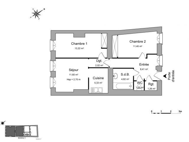 appartement à louer sur trevoux
