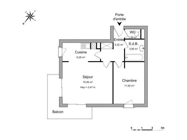 Appartement à louer sur Sainte Genevieve Des Boi