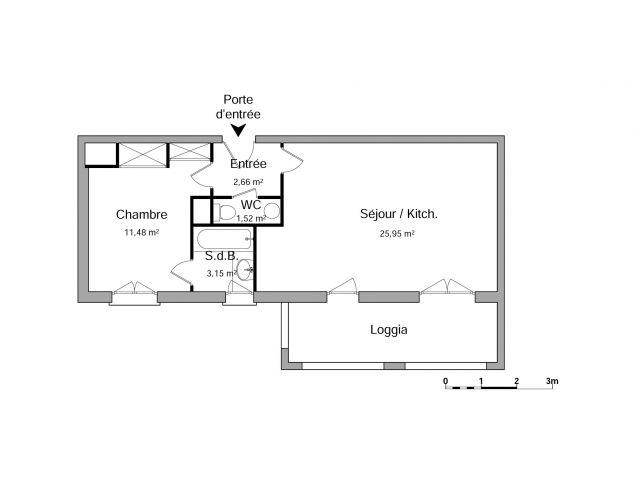 Appartement à louer sur Caluire