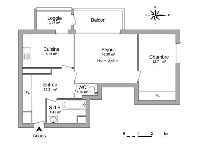 appartement meublé à louer sur anglet
