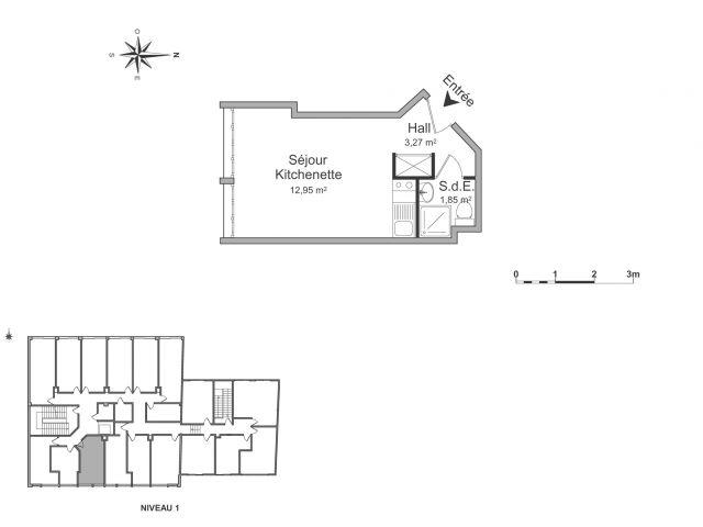 appartement meublé à louer sur fontenay aux roses