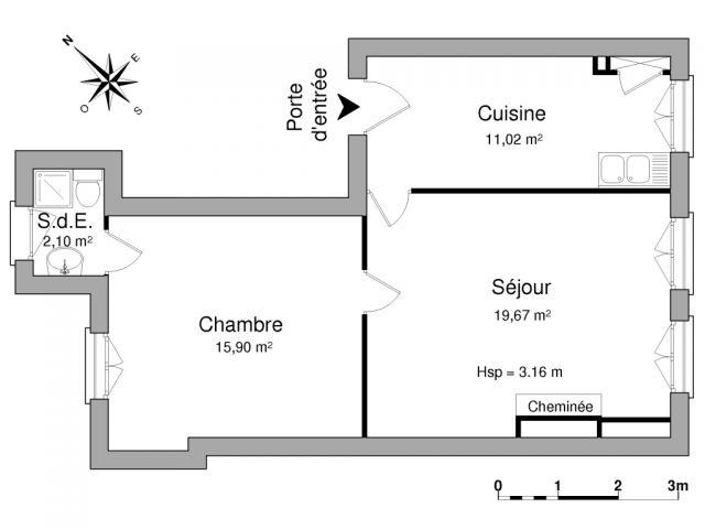 Appartement à louer sur Bordeaux