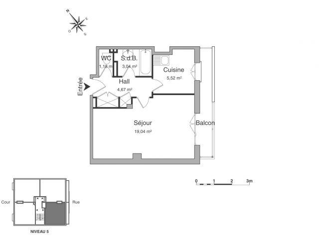 Appartement à louer sur La Varenne Saint Hilaire
