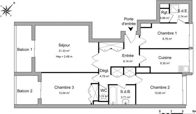 Appartement à louer sur Noisy Le Grand