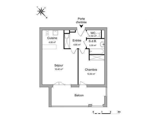 appartement à louer sur le pontet