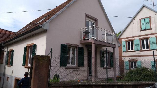 Appartement à louer sur Niedersoultzbach