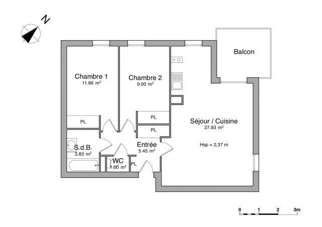 Appartement à louer sur Auterive