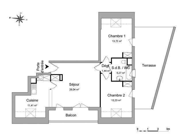 appartement à louer sur limeil-brevannes