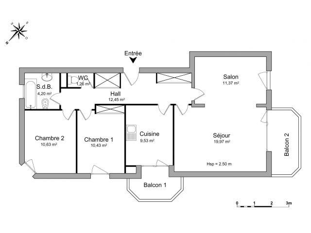 Appartement à louer sur Sciez