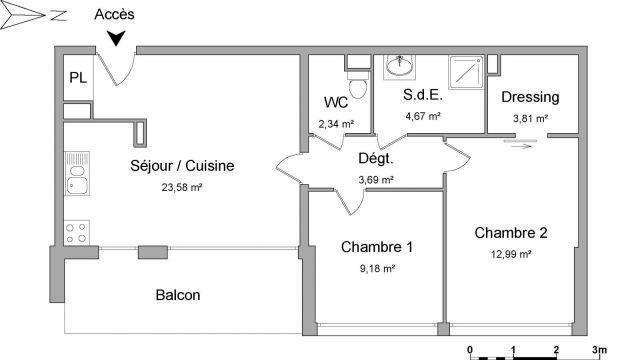 Appartement à louer sur Benesse-maremne
