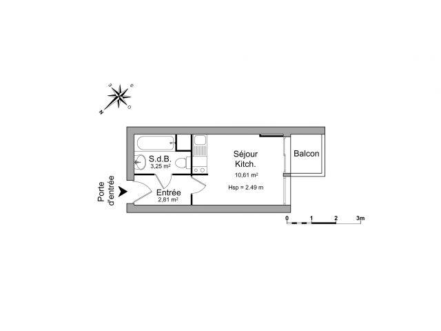 Appartement à louer sur Talence