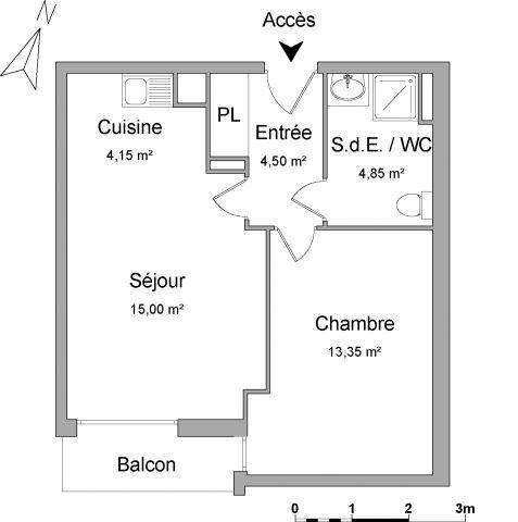 appartement à louer sur pomponne