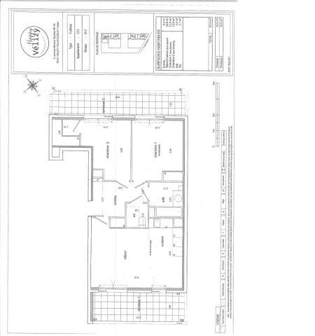 Appartement à louer sur Velizy Villacoublay