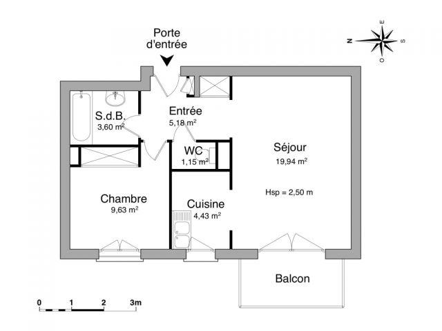 Appartement à louer sur Les Angles
