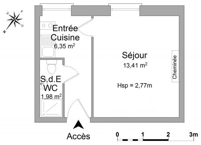 Appartement meublé à louer sur Reims