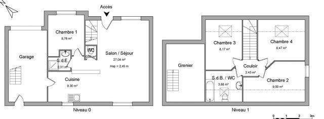 Maison à louer sur Landerneau