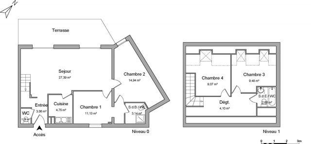 Appartement à louer sur Limay