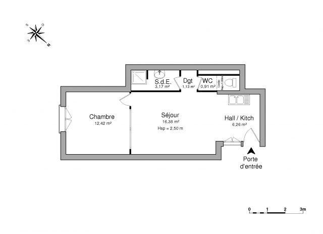 Appartement à louer sur Saint Just