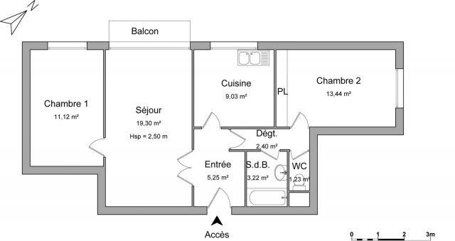Appartement à louer sur Ecouen