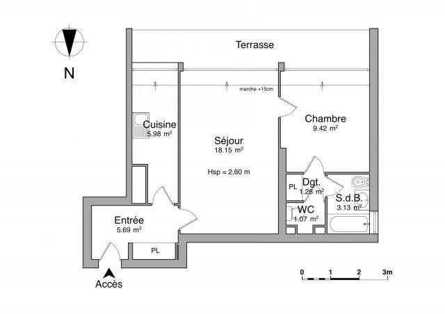 appartement à louer sur plessis robinson