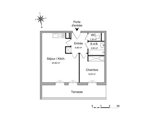 Appartement à louer sur Deuil La Barre