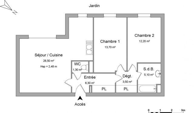 appartement à louer sur coulommiers