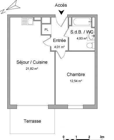 Appartement à louer sur La Croix Valmer