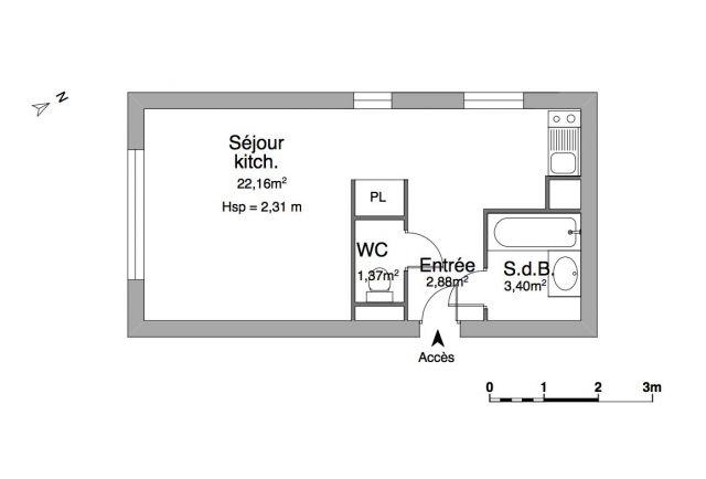 Appartement à louer sur Vetraz - Monthoux