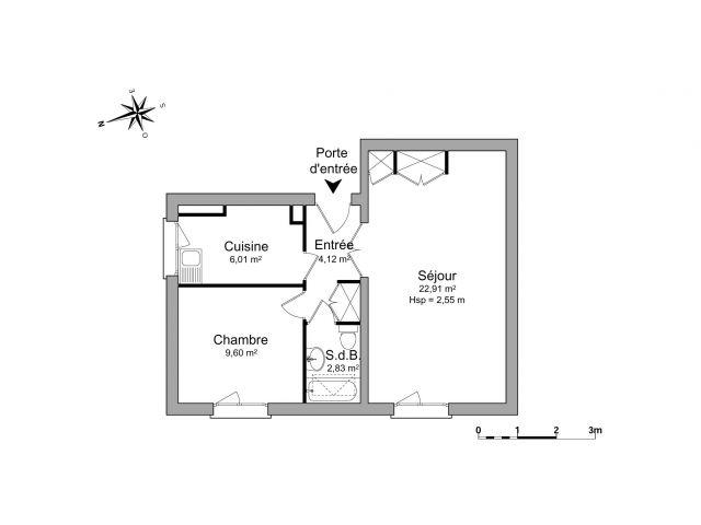 appartement à louer sur mondeville