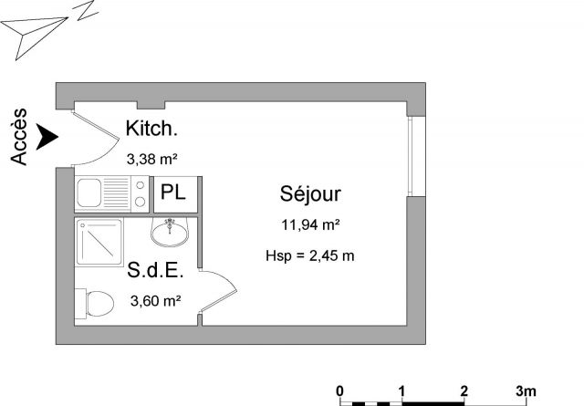 appartement meublé à louer sur houilles