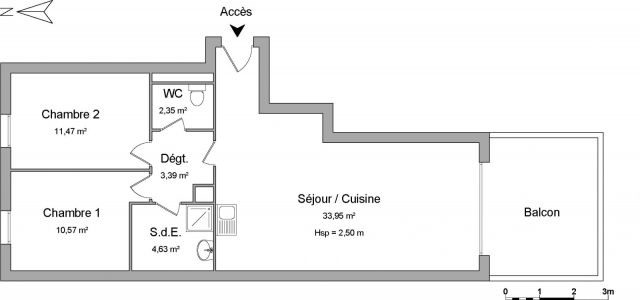 Appartement à louer sur Port Saint Louis Du Rhone