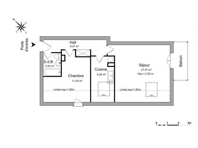 Appartement à louer sur Verneuil Sur Seine