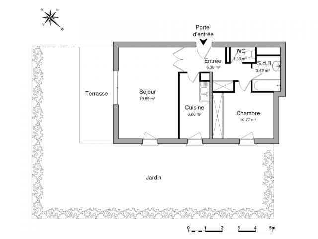 Appartement à louer sur Cavalaire S/mer