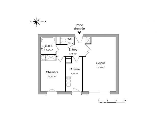 Appartement à louer sur Issy-les-moulineaux