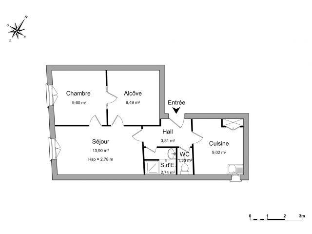 appartement à louer sur cuers