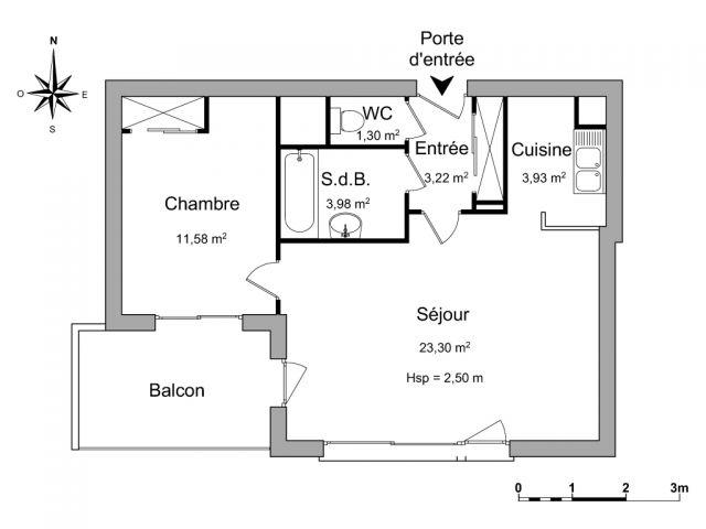 Appartement à louer sur Saint Brieuc