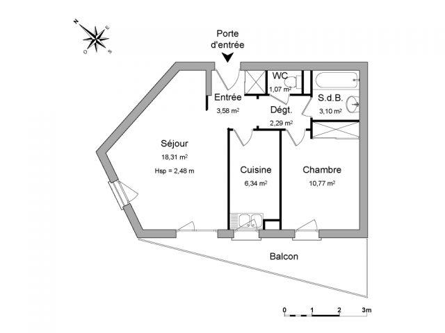 Appartement meublé à louer sur Ermont