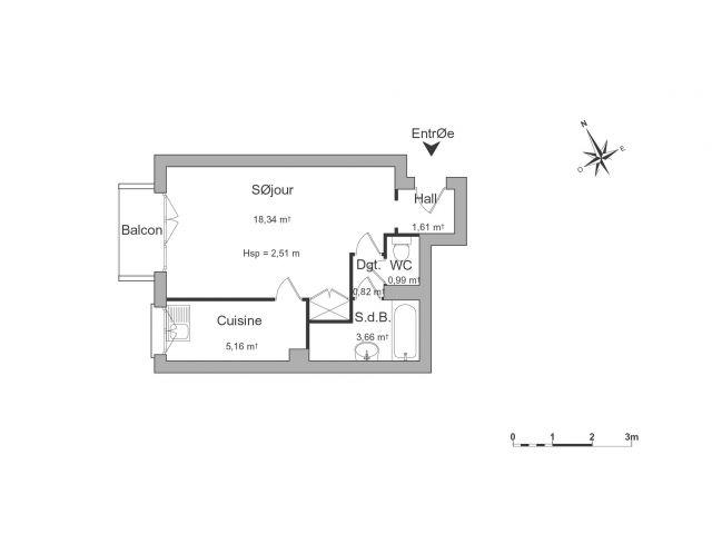 Appartement à louer sur Saint-maur