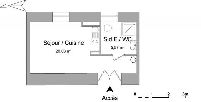 Appartement à louer sur Vitre