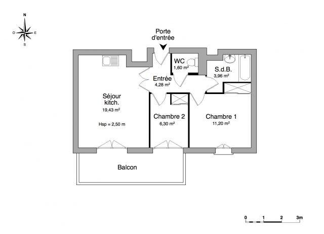 Appartement à louer sur Frejus