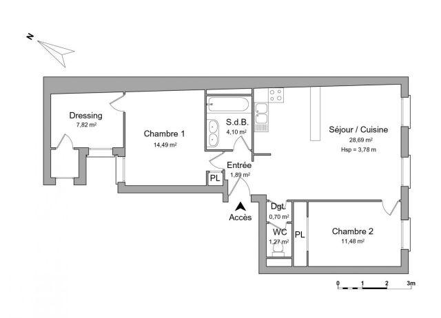 Appartement à louer sur Nîmes