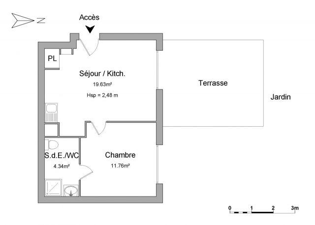Appartement à louer sur Cesson