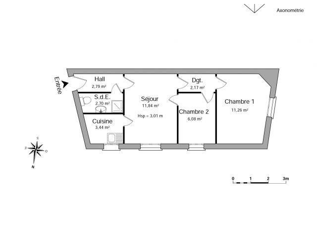 Appartement à louer sur Le Perreux