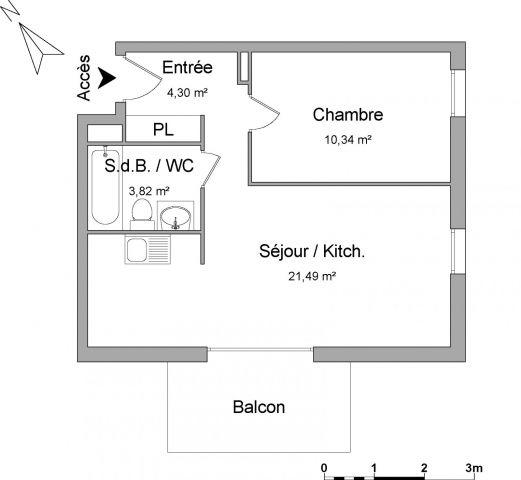 Appartement à louer sur Brumath