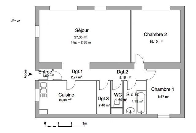 appartement à louer sur confort