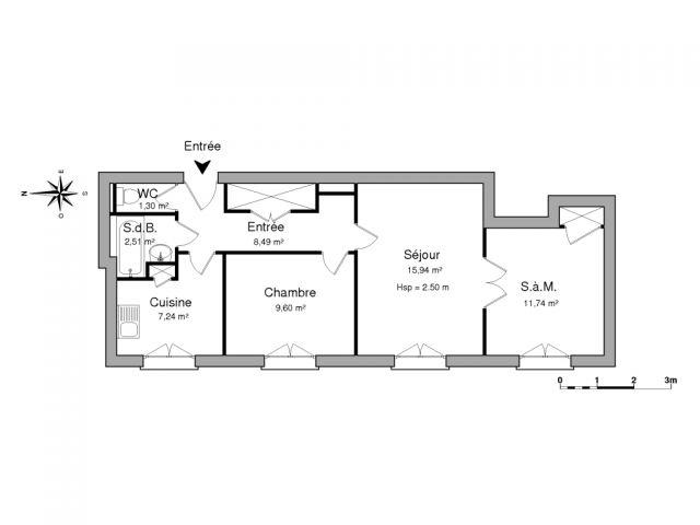 appartement à louer sur villeurbanne