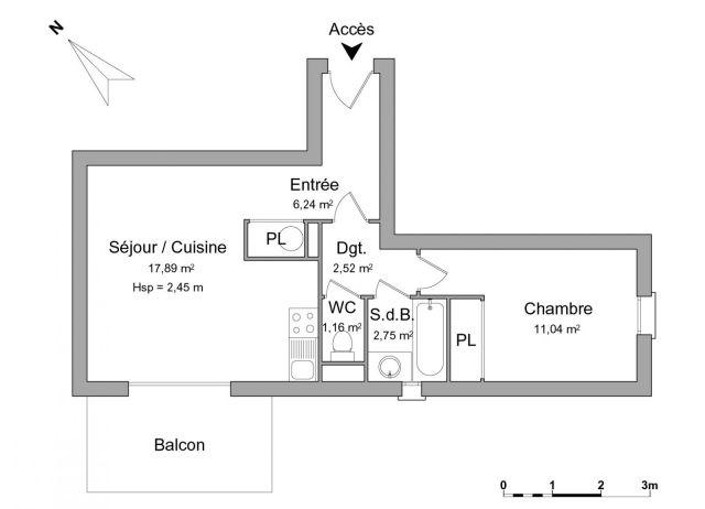 Appartement à louer sur Nangy