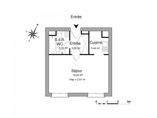 appartement à louer sur le pecq