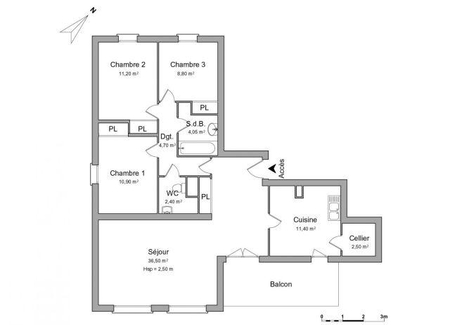 appartement à louer sur cluses