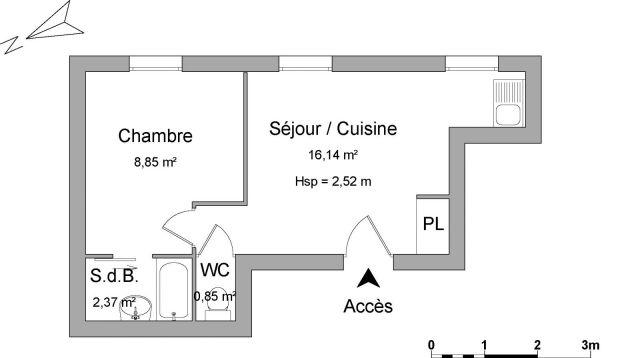Appartement à louer sur Chateauvilain